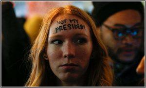 トランプ大統領 デモ