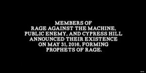 プロフェッツ・オブ・レイジ、Prophets Of Rage